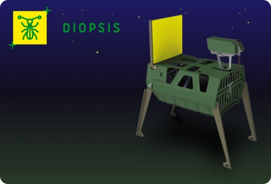 Diopsis automatische insectenmonitor